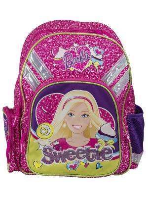 Рюкзак с эргономической EVA-спинкой. Barbie. Цвет: розовый, сиреневый
