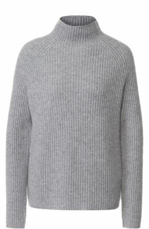 Вязаный пуловер из кашемира FTC. Цвет: серый