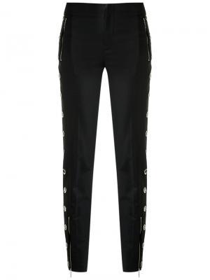 Skinny trousers Reinaldo Lourenço. Цвет: чёрный