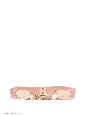 Пояс MONDIGO. Цвет: бледно-розовый