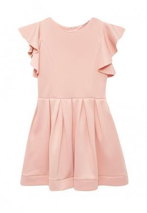 Платье Boom. Цвет: коралловый