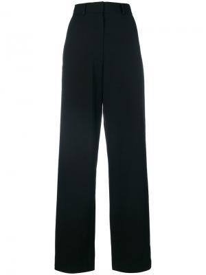 Широкие брюки Cédric Charlier. Цвет: чёрный