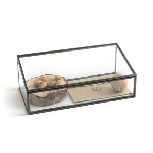 Коробка-витрина, Ш30 x В12 Г15 см, Digori AM.PM.. Цвет: латунь,темно-серый металл