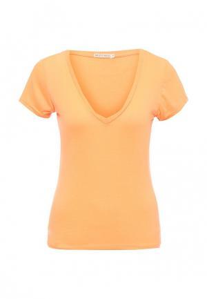 Футболка Brave Soul. Цвет: оранжевый