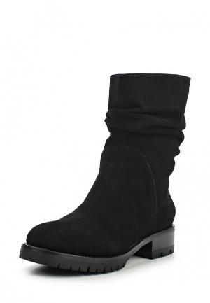Полусапоги DKNY. Цвет: черный