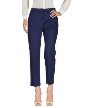 Повседневные брюки MANTÙ. Цвет: темно-синий