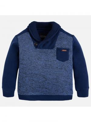 Пуловер Mayoral. Цвет: синий