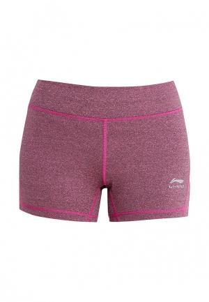 Шорты спортивные Li-Ning. Цвет: розовый