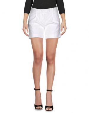 Повседневные шорты NOVEMB3R. Цвет: белый