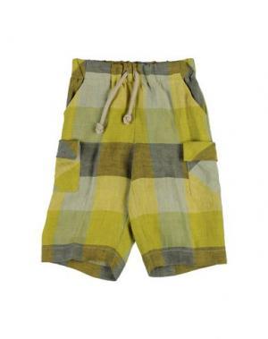 Повседневные брюки LA STUPENDERIA. Цвет: зеленый
