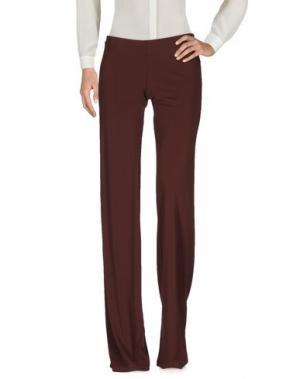 Повседневные брюки FISICO-CRISTINA FERRARI. Цвет: какао