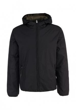 Куртка утепленная New Brams. Цвет: хаки, черный