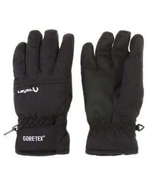 Перчатки level. Цвет: черный