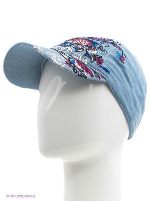 Бейсболка Maxval. Цвет: серо-голубой, голубой, серебристый