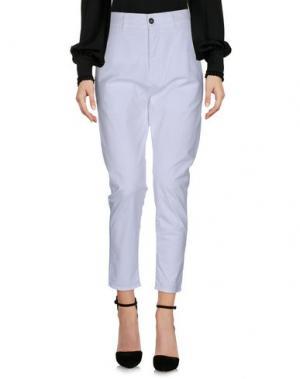 Повседневные брюки NOVEMB3R. Цвет: белый
