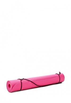 Коврик для йоги Nike. Цвет: розовый