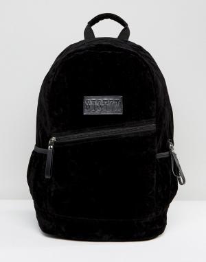 Systvm Черный рюкзак из искусственного меха. Цвет: черный