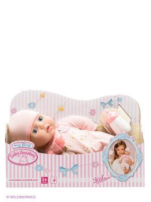 Игрушка Пупс my first Baby Annabell, 36 см. ZAPF. Цвет: бледно-розовый