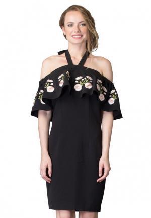 Платье Cavo. Цвет: черный