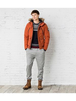 Куртка Springfield. Цвет: оранжевый