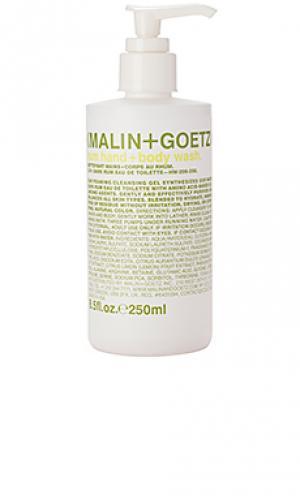 Гель-мыло для рук и тела ром MALIN+GOETZ. Цвет: beauty: na