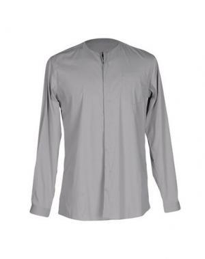 Pубашка DAVID NAMAN. Цвет: серый