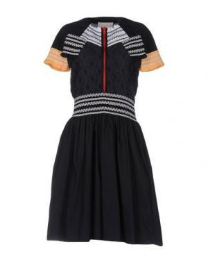 Платье до колена PETER PILOTTO. Цвет: темно-синий