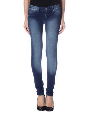 Джинсовые брюки BLEIFREI. Цвет: синий