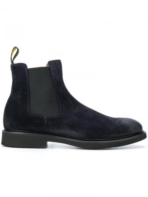 Ботинки челси Doucals Doucal's. Цвет: синий
