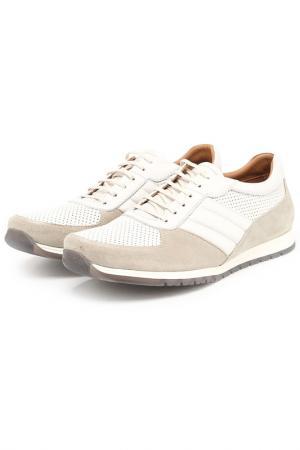 Кроссовки DERI&MOD. Цвет: бежевый, белый