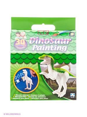 Набор Разрисуй динозавра 3D AMAV. Цвет: зеленый