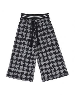 Повседневные брюки SO TWEE by MISS GRANT. Цвет: стальной серый
