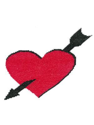 Вышивка на одежде NITEX. Цвет: красный, черный