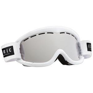 Маска для сноуборда подростковая  EG1K Gloss White Bronze/Silver Chrome Electric. Цвет: белый