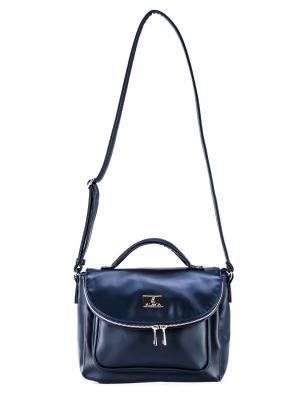 Женская сумка S.LAVIA. Цвет: синий