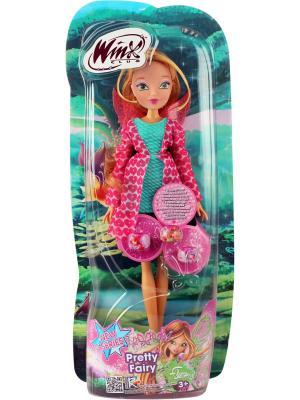 Кукла Winx Club Красотка, Flora. Цвет: серо-зеленый, малиновый, золотистый
