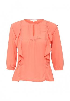 Блуза NewLily. Цвет: коралловый