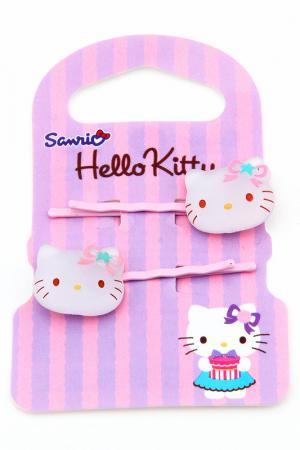 Заколка-невидимка Hello Kitty. Цвет: розовый