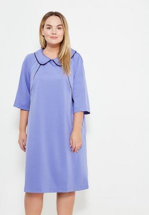 Платье Авантюра Plus Size Fashion. Цвет: фиолетовый