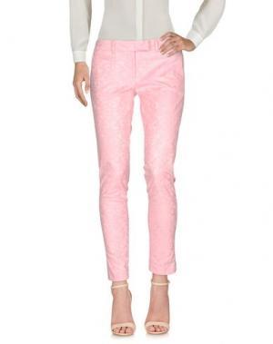 Повседневные брюки NORA BARTH. Цвет: розовый