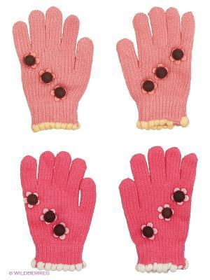 Перчатки FOMAS. Цвет: бледно-розовый, розовый