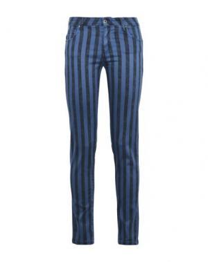 Повседневные брюки GEORGE J. LOVE. Цвет: синий