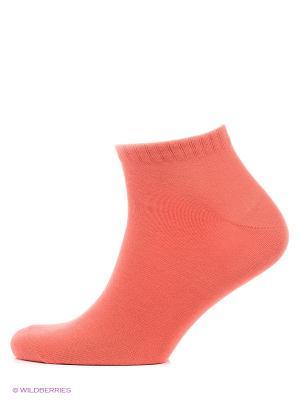 Носки Skinija. Цвет: коралловый