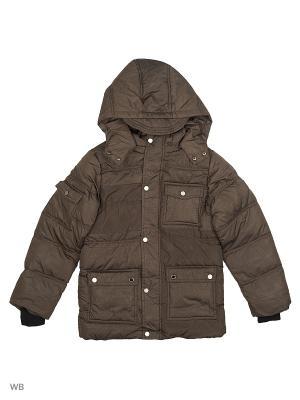 Куртка Cherche. Цвет: темно-коричневый