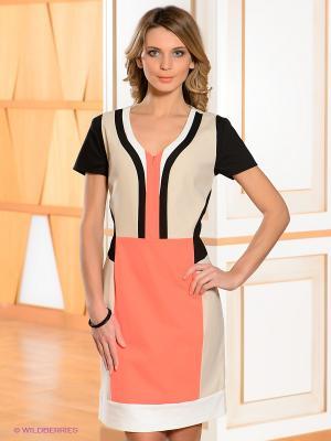 Платье Bandolera. Цвет: светло-бежевый