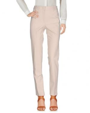 Повседневные брюки E/KOLLINS. Цвет: бежевый