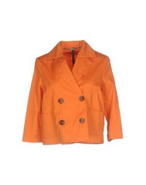 Пиджак MANILA GRACE. Цвет: оранжевый
