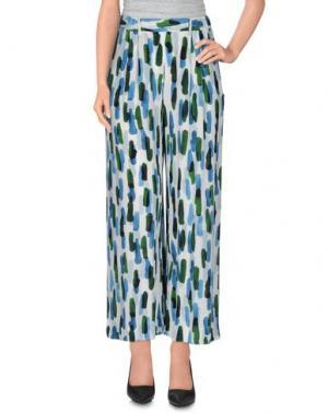 Повседневные брюки OTTOD'AME. Цвет: белый
