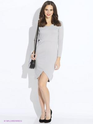 Платье DOCTOR E. Цвет: серый