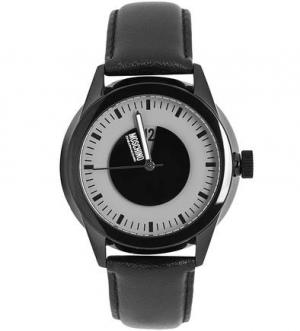 Часы круглой формы с кварцевым механизмом Moschino